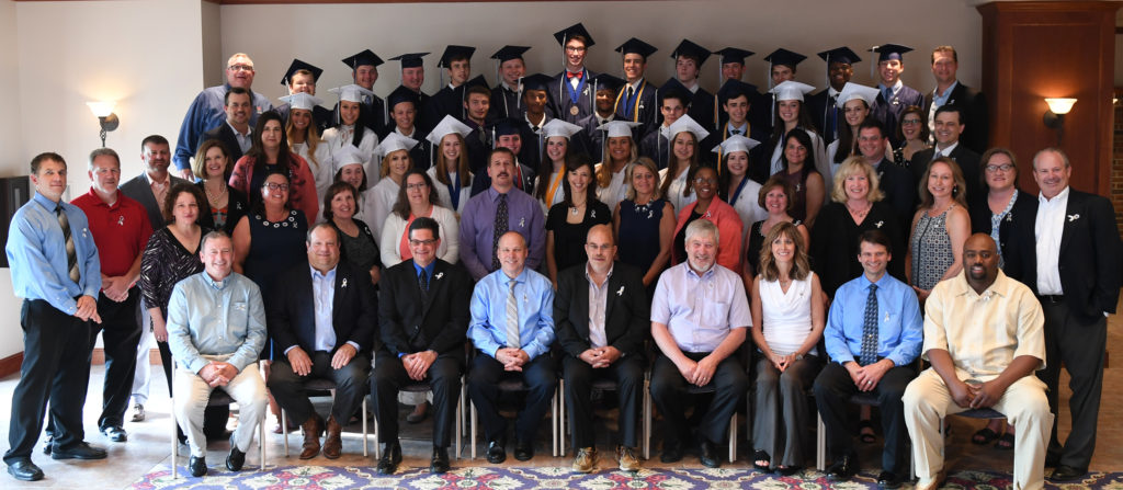 2018 Legacy Graduates and their parents